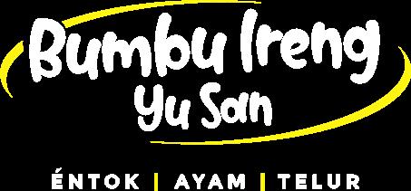 Logo Bumbu Ireng Yu San - Baru